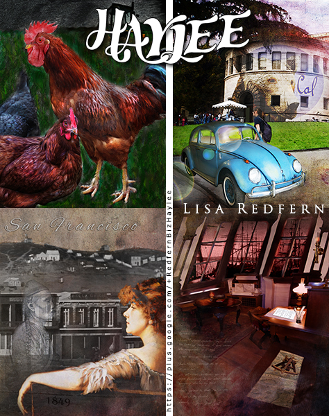 Sample art pieces that will be included in the Haylee e-novellas.