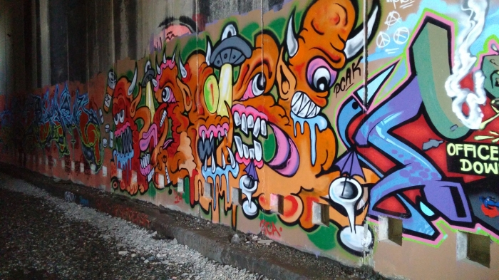 Train Tunnels, Chinese History and Urban Art at DonnerSummit