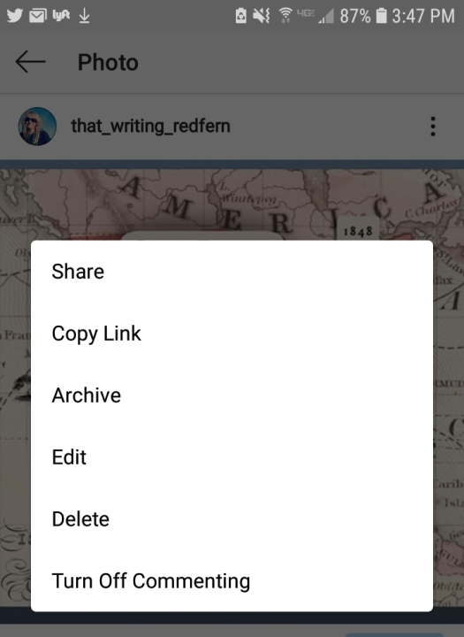 how to edit a comment on instagram 2019